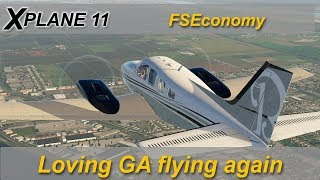 X-plane: FS Economy or How I learned to love GA flying again.