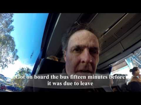 Townsville to Cairns on a Greyhound bus - Queensland, Australia