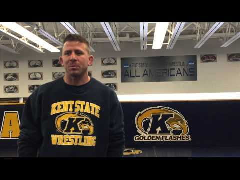 Kent State Wrestling: Jim Andrassy Video Blog, March 2, 2015