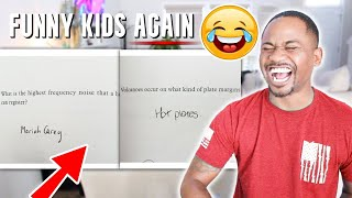 FUNNY KIDS TEST ANSWERS !! (December 2020) | Alonzo Lerone