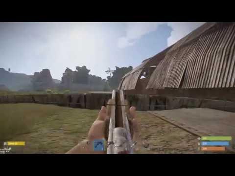 New base & killing a hacker! (Rust Solo Survival) #5
