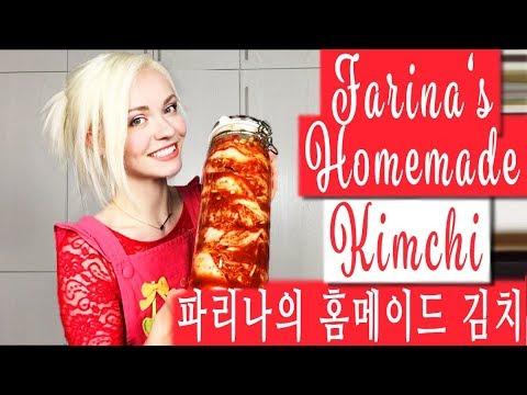 Making My Own Traditional Korean Kimchi