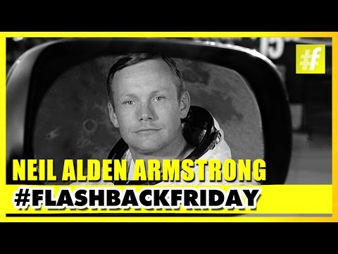 Neil Alden Armstrong - The First Man To Walk On The Moon | #FlashBlackFriday
