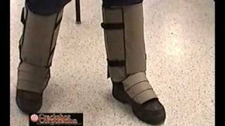 Snake Guardz - Rattlesnake biting man with snake guardz