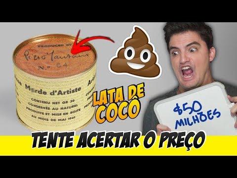 DESAFIO TENTE ACERTAR O PREÇO - LATA ESQUISITA