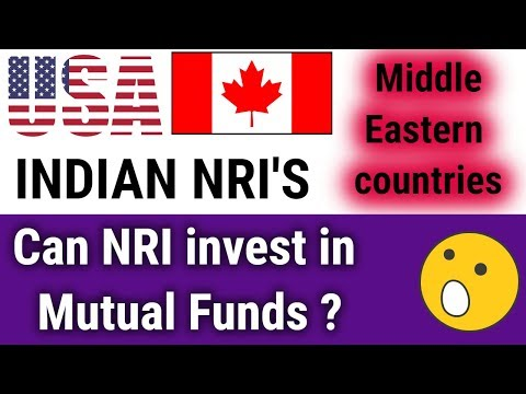 Mutual Funds In India For Nri | US & Canada | Middle East Countries NRI | How To Start Mutual Funds
