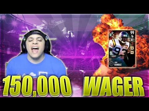 KILLING HIM WITH THE DRAW! (99 JOHN RANDLE GAMEPLAY) - MADDEN 17 ULTIMATE TEAM
