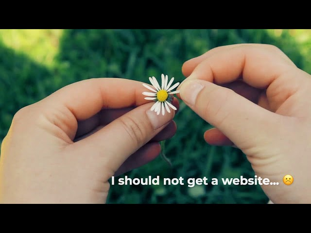 To get a website or not?  YES!