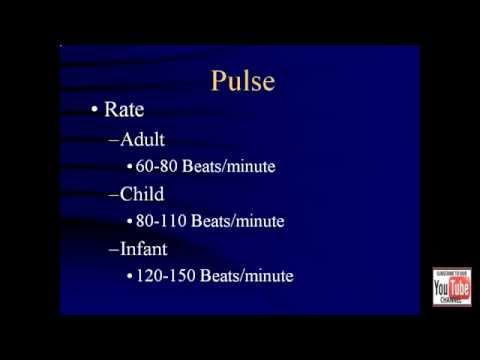 Vital Signs Review for EMTs