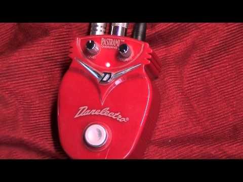 Danelectro Pastrami Overdrive Guitar Pedal