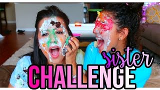 Sister Challenge with Nicci!