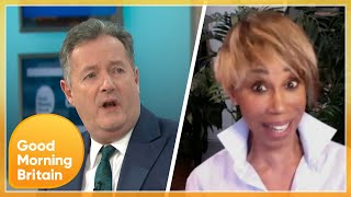 Piers Clashes With Trisha Goddard Over Meghan Markle's Racism Claims in the Royal Family | GMB