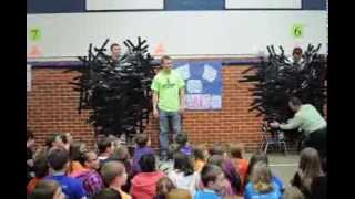 Thomas Jefferson Elementary School - 2014 Wish On A Well Project & Duct Tape Challenge - NO CHAIRS