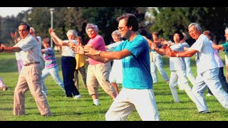 (Click Play) First Move Tai Chi Form - Tai Chi For Beginners/Seniors DVD Video Sample