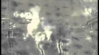 Поражение укрепленного позиционного района боевиков в р-не ДАМАСКА