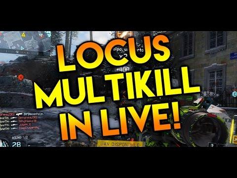 LOCUS MULTIKILL IN LIVE!!! (BO3 Insane Clip w/Reaction)