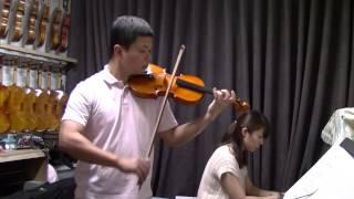 小提琴教學 筱崎四-韋瓦第a小調小提琴協奏曲 vivaldi concerto a minor