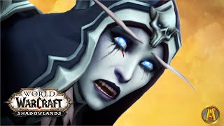 Sylvanas Defeat Cinematic - Jaİler Escapes Maw Cutscenes [9.1 WoW Shadowlands: Chains of Domination]