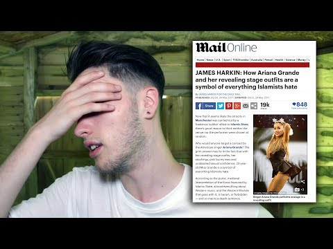 DAILY MAIL BLAMES ARIANA GRANDE FOR MANCHESTER ATTACK