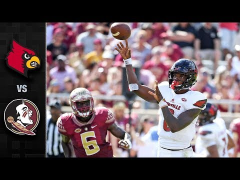 Louisville vs. Florida State Football Highlights (2017)