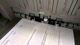 Печать листовок с одновременным пробиванием дырок для держателя(Для обучающих и раздаточных материалов., 2015-02-13T18:50:40.000Z)