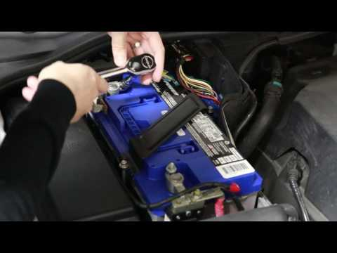 How to Replace the Battery | 2013 Range Rover Sport
