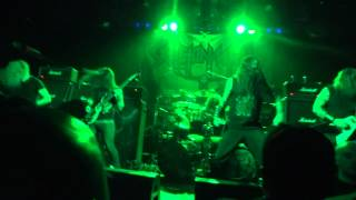 Skeletonwitch - Shredding Sacred Flesh / Within My Blood [Live @ Irving Plaza, NY - 04/19/2012]