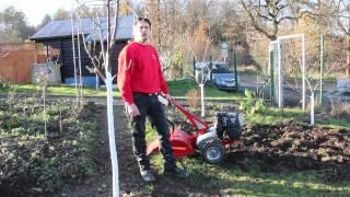Gartenfräse klein mieten bei Rentas, Anleitung