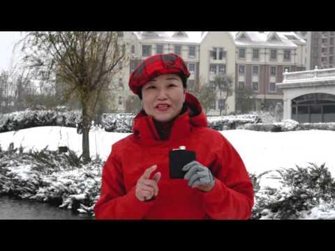 Snow Golf in Tianjin
