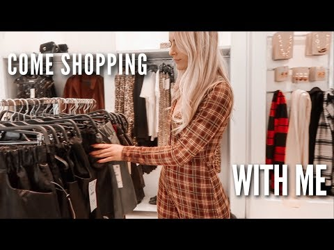 Come Shopping With Me - Topshop, Zara, H&M, Urban Outfitters | Fashion Influx