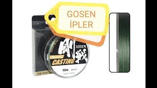 GOSEN W8 CASTING İP MİSİNA (türkçe)