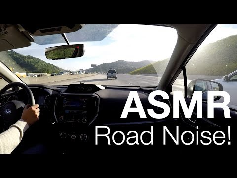 Driving In Silence - Road Noise - 2017 Subaru Impreza 31 Minutes Sunny Evening Drive ASMR 009