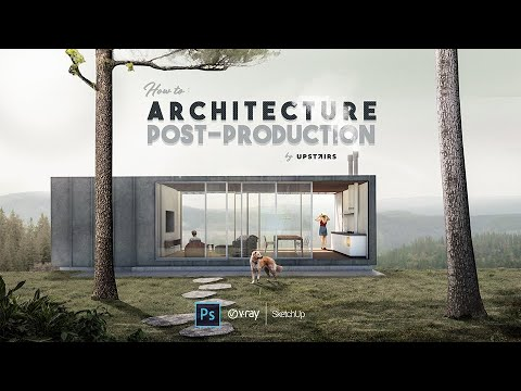 COURSE: Architecture Post-production in Photoshop!