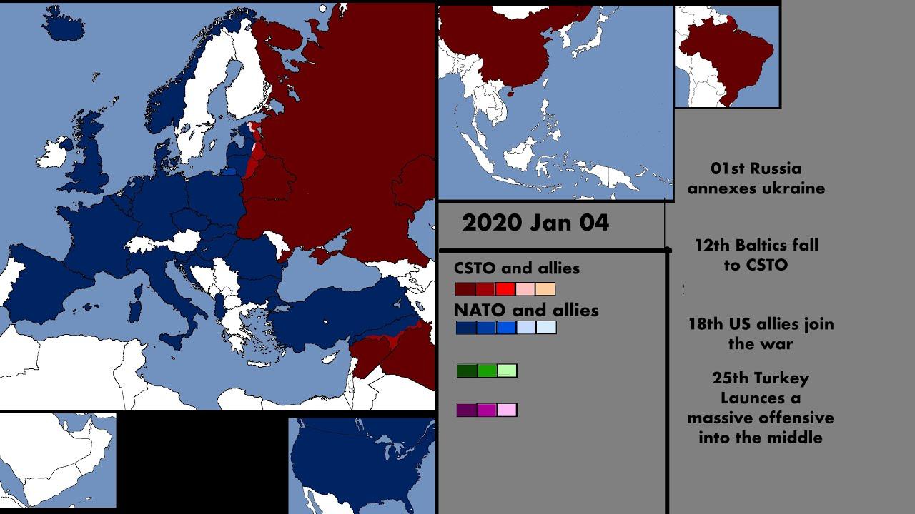 World War 3 - Scenario 1 Every Day