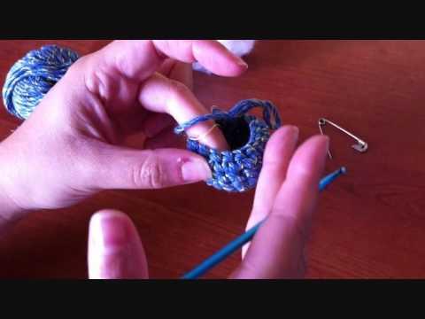 Amigurumi Uncinetto Tutorial : Uncinetto lezione 6: Amigurumi - YouTube