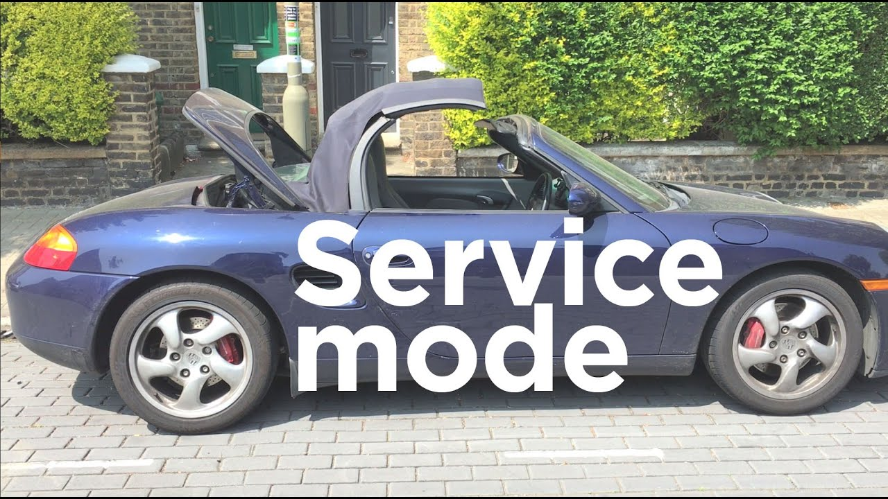 How To Access A Boxster S Engine Service Mode Road Race S02e13