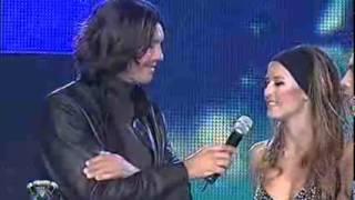 Showmatch 2007 - Luli y Jonathan deslumbraron con el strip dance sobre hielo