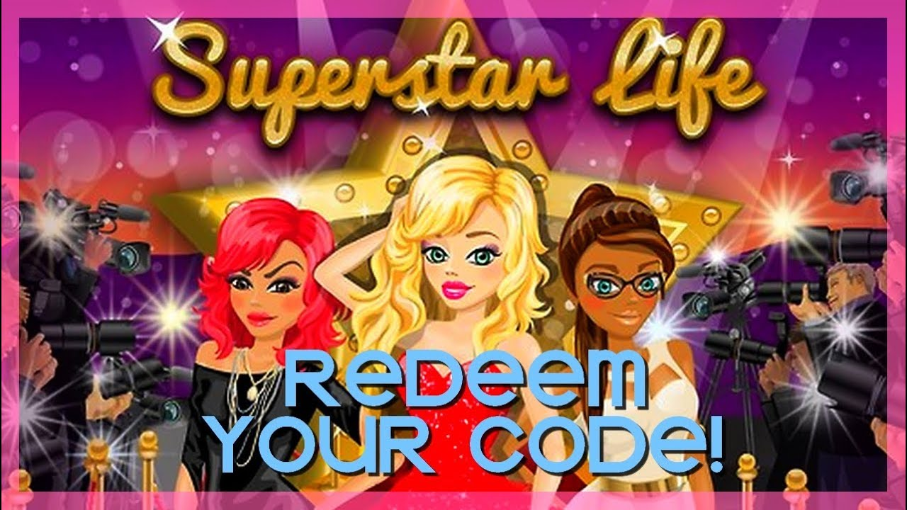 superstar life redeem your own code youtube