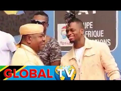 Diamond Aandika Historia Africa, Rais wa Gabon Amvulia Kofia