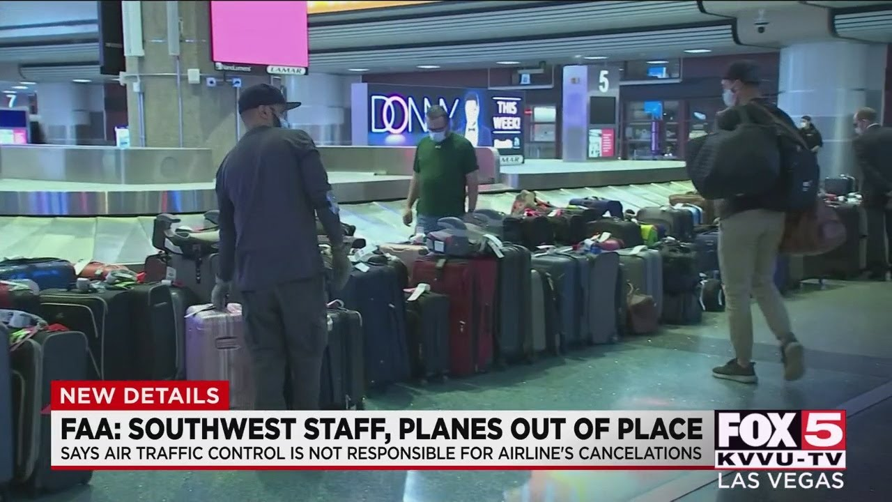Southwest Airlines cancels more than 1000 Sunday flights