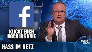 Hatespeech: Wer kümmert sich um den Hass im Netz? | heute-show vom 04.10.2019