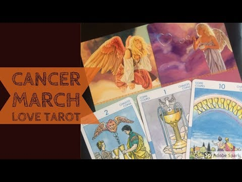 CANCER MARCH  2018 | ~ENGAGEMENT WITH YOUR SOULMATE~ | LOVE TAROT READING