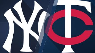 7/18/17: Five-run 5th Propels Yanks Over Twins, 6-3
