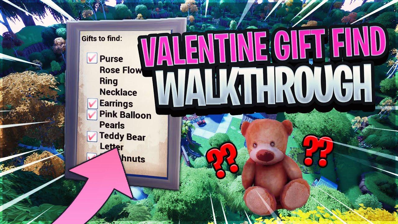 Valentine Gift Find Walkthrough - YouTube
