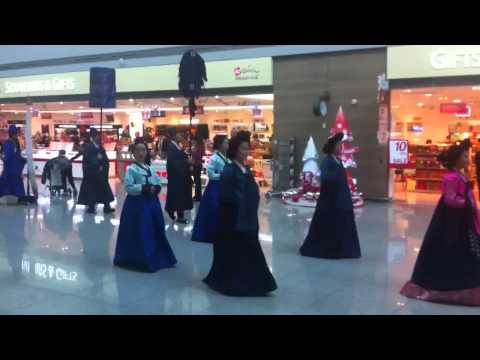 Cultural ceremony @ incheon airport