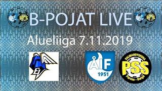 EräViikingit Valkoinen - AIF/PSS (B-pojat Alueliiga 7.11.2019)
