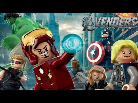 lego marvels avengers all cutscenes game movie full story