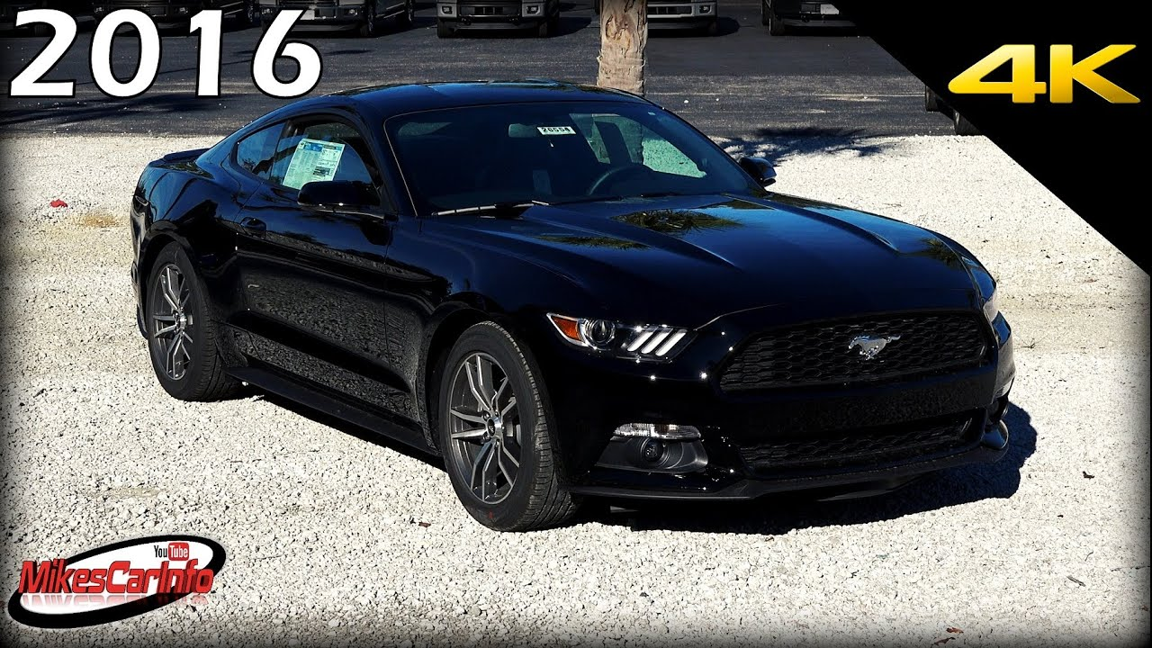 2016 Ford Mustang Ecoboost Premium Ultimate In Depth Look 4k