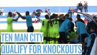 BIZARRE RED CARD IN WIN | Sevilla 0-2 City | UEFA Youth League