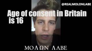 IN DEFENCE OF MILO IN LIGHT OF FALSE PEDOPHILIA ALLEGATIONS